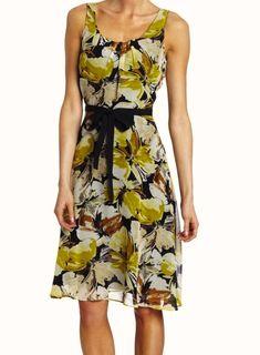 fc2aa3436e4 Danny   Nicole Women s Chiffon floral Dress 18W