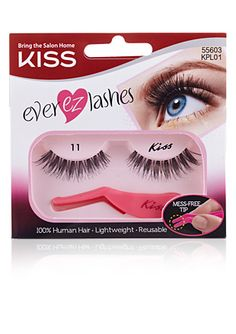 Kiss lashes 11 my favorite Faux Lashes, Wispy Lashes, False Eyelashes, Perfect Brows, Curly Hair Care, Eye Makeup Remover, Natural Lashes, Make Up