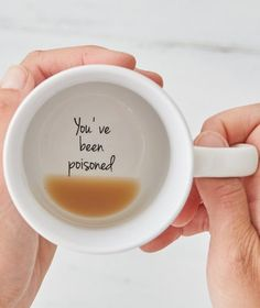 MAKE THEM SMILE: You've been poisoned coffee mug. #cups #poison Groomsmen Proposal, Bridesmaid Proposal Box, Bridesmaid Gifts, Asking Bridesmaids, Will You Be My Bridesmaid, Coffee Date, Coffee Mugs, Wedding Day, Dream Wedding