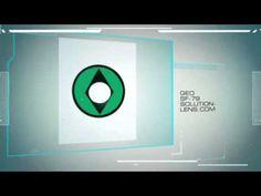 HALLOWEEN GEO LENS SF 79 GREEN DIAMOND EYES