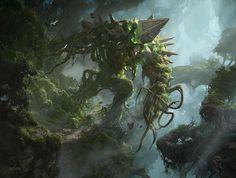 MTG: Battle for Zendikar: Avenger of Zendikar - by Aleksi Briclot
