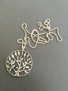 Tree of life pendant Necklace Tree necklace giving tree by Muse411