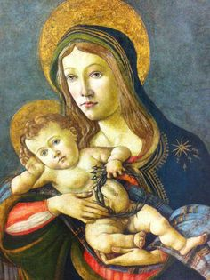 The Madonna with child, the first Sandro Botichelli un Latinamerica at Museo Soumaya Mexico city
