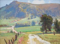 Ray Roberts, Country Road 12x16