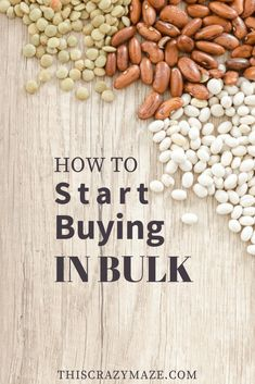 Wondering what to buy in bulk? Check out this list of the best food to bulk buy to actually save you money on your grocery bill. Bulk Store, Zero Waste Store, Recycling Information, Green Living Tips, Bulk Food, Frugal Tips, Cool Things To Buy, Stuff To Buy, Organic Recipes