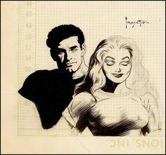 Fantasy Ink: Frank Frazetta art from the never-published Shock Illustrated #4.