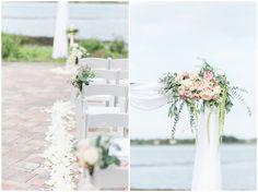 Romantic wedding at River House Events in St. Augustine Fl. Destination Wedding, Bride & Groom, Blush Wedding Inspiration, Bridal Party, Must Have Wedding Photos, Jacksonville, decor, ceremony