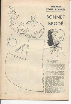 magazine-mireille-patron-poupee-mireille-bonnet-brodé
