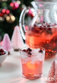 Jingle Juice Holiday Punch Recipe – Only three delicious ingredients and the prettiest ice cubes you will ever make!