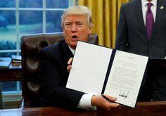 Trump on pannut tuulemaan allekirjoittamalla presidentin asetuksia – mikä on tämä kiistelty valtaoikeus? - Ulkomaat - Helsingin Sanomat