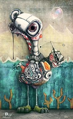 Artist : Castro Juan Pablo Mora  freaky neat