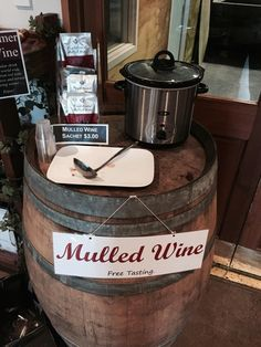 Mulled Wine for winter! Yummy! #Soljans #Kumeu