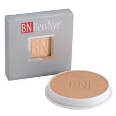 Ben Nye's Color Cake Foundations are formulated in a creamy, water activated formula with a diverse color range. Cakes apply quickly and evenly without chalkiness. Recommended for use with oily or sensitive skin. For information, contact Denver@norcostco.com  Mention you found us on Pinterest and ask about our Pro Makeup Artist Discount Program which saves you money! #bennye #makeup #stage #theatre #beauty