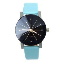 Durable 2016 Stainless Steel watch women Clock Leather Business Watch Relogio Feminino Relojes quartz-watch Relogio Masculinos