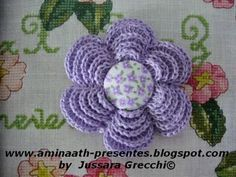 Pap Lotus Flower free crochet tutorial