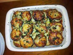 Receta de Berenjenas gratinadas a la parmesana | Eureka Recetas