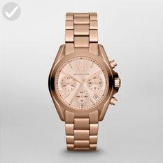 Michael Kors Women's Bradshaw Rose Gold-Tone Watch MK5799 - All about women (*Amazon Partner-Link)