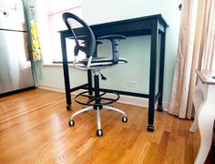 High Desk (counter Height Table + Tall Drafting Chair)
