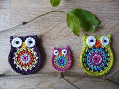 Owl big brother crochet pattern by ATERG.crochet via Etsy Owl Crochet Patterns, Crochet Owls, Owl Patterns, Crochet Motif, Crochet Crafts, Crochet Flowers, Stitch Patterns, Knit Crochet, Crochet Ideas