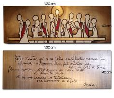 Ultima cena con el Padrenuestro The Last Supper Painting, Canvas Painting Projects, Dining Room Walls, Scripture Art, Wire Art, Beauty Art, Religious Art, Watercolor Flowers, Art Inspo