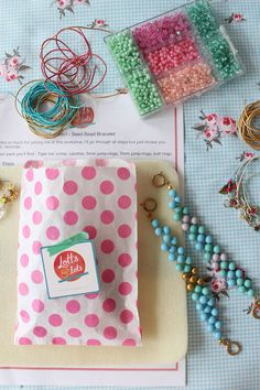 Jewellery Making Workshops - Lotts and Lots