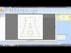 Create appliques letters in PE-Design Next using built in lettering or TTFs. Embroidery Design Software, Machine Embroidery Designs, Sewing Hacks, Sewing Projects, Sewing Tips, Brother Pe Design, Embroidery Applique, Embroidery Digitizing, Embroidery Patterns