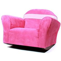 Fantasy Furniture Keet Bubble Children's Chair; Microsuede - Pink