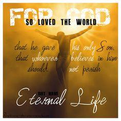 Thankful for Good Friday John 3:16