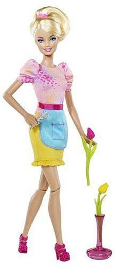 2012 BARBIE I can be a Floral Designer - Target Exclusive #Barbie #Dolls