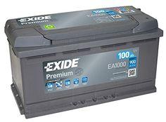 Exide Premium Superior EA1000 Batterie 100 Ah Courant de démarrage à froid 900 A: Cet article Exide Premium Superior EA1000 Batterie 100 Ah…