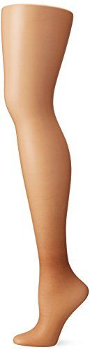 Hanes Silk Reflections Women's High Waist Control Top Sandalfoot