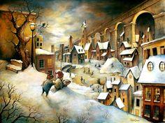 La Ville en hiver by felixgi on DeviantArt