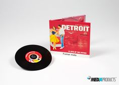 CD produzido para a TABAQUEIRA, para promoção da marca DETROIT. CD com musicas dos anos 50.
