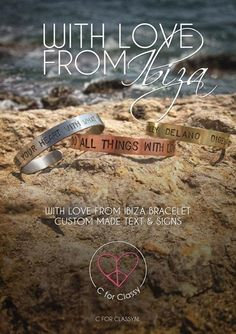 With love from Ibiza bracelet small zilver