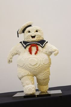 """The Stay Puft Marshmallow Man From """"Ghostbusters"""" Has Been Recreated In LEGO And It Is Awesome"""