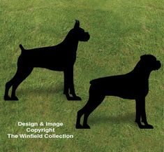 Boxer Shadow Woodcrafting Pattern Everyone will do a double take when you display this lifesize silhouette in your yard or on a building! #diy #woodcraftpatterns