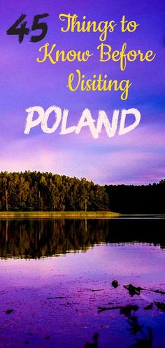 Things to know before visiting Poland - Here are 45 incredible Poland facts that make it so beautiful, rich and unique! Europe Destinations, Europe Travel Guide, Travel Guides, Travel Info, Amazing Destinations, Travel Advice, Poland Facts, Ukraine, Visit Poland