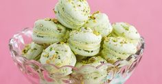 Serve these crunchy macarons with coffee or tea after dinner - they'll satisfy even the fussiest eater.