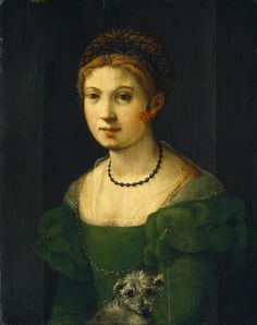 Florentine 16th Century - Portrait of a Young Woman