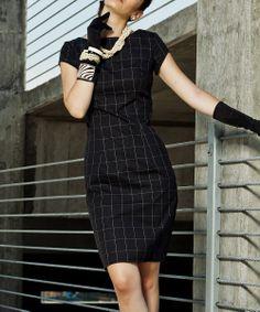 Black All Dolled Up Sheath Dress