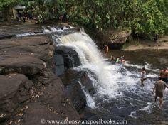 Waterfall at Kulen mountain, Cambodia. www.antonswanepoelbooks.com