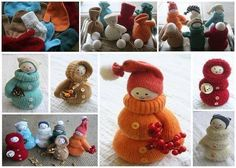 Lovely dolls from your mitts. Credit - love hobby craft