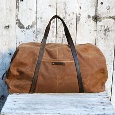 Military Waxed Canvas Duffel Bag | dotandbo.com
