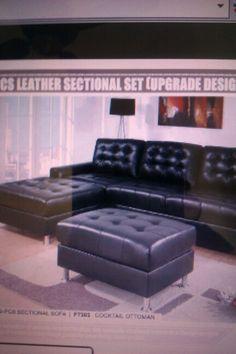 Black leather $550.00