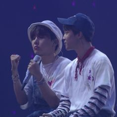 """jihope are so cute together :-("""