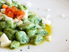 Gnocchetti agli spinaci