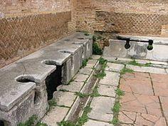 Public toilets - Ostia Antica - Italy