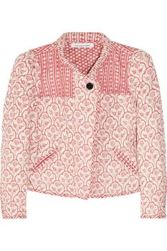 Étoile Isabel Marant Haca quilted cotton jacket