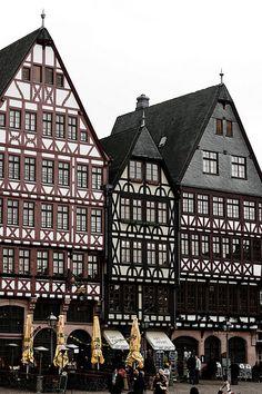 Frankfurt, Germany, plaats van mijn stage, blijft altijd speciaal