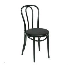 Classic Party Rentals, Chair, Bentwood Black